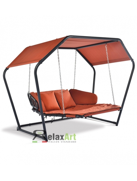 Diamond swing chair