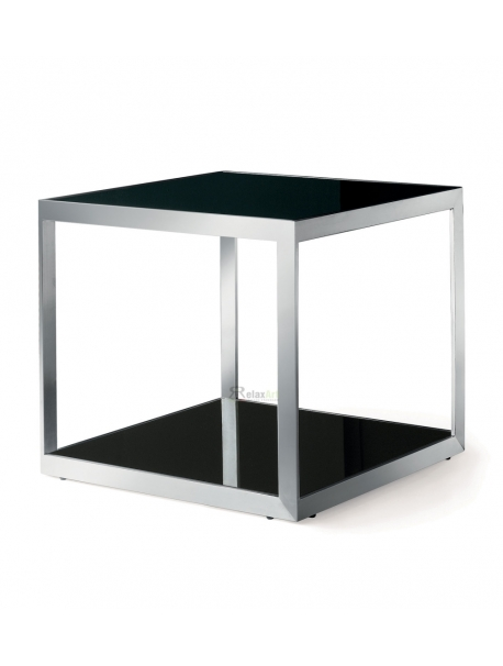 M073 square side table